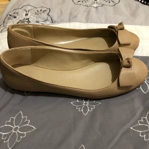 Ann Taylor Shoes - Nude flats
